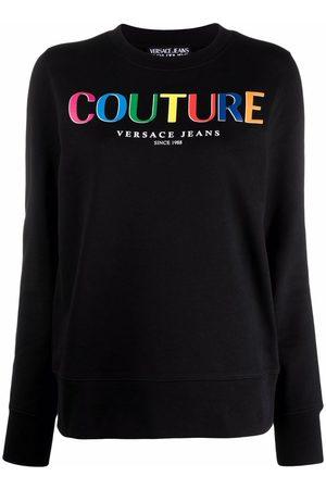 VERSACE Multicolor logo sweatshirt