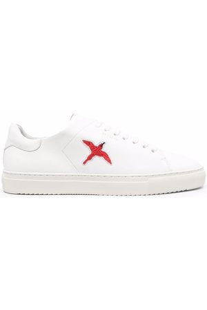 Axel Arigato Logo-embroidered leather sneakers