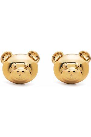 Moschino Teddy Bear clip-on earrings