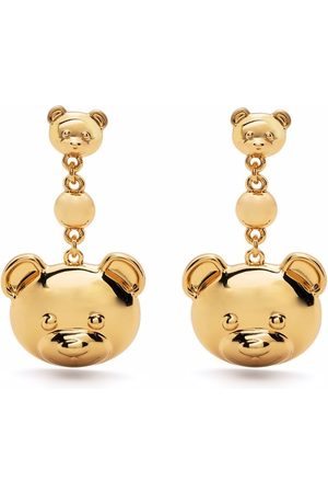 Moschino Teddy Bear hanging earrings