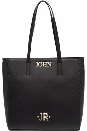John Richmond Logo-letter tote bag