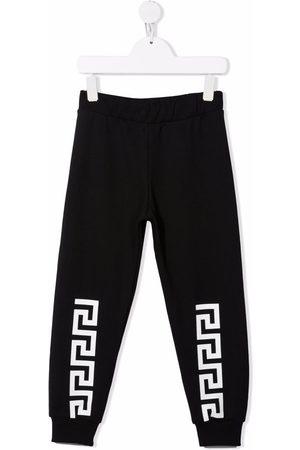 VERSACE Logo-print sweatpants