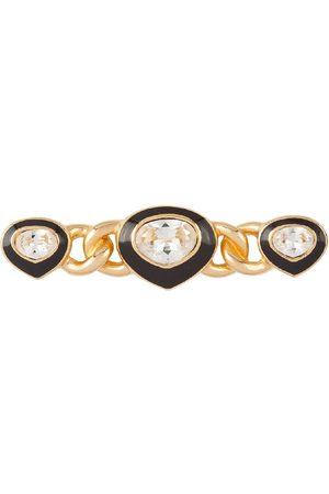 Dior 1980s pre-owned crystal-embellished brooch