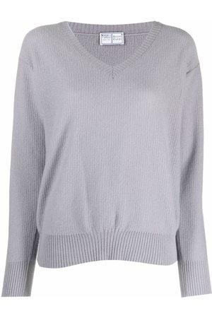 FEDELI V-neck cashmere jumper