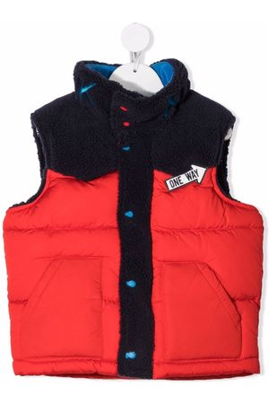 The Marc Jacobs Colour-block padded gilet