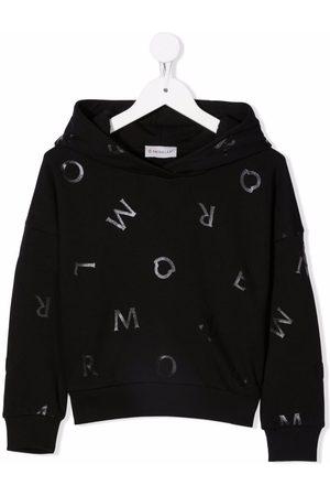 Moncler Letter-print logo hoodie