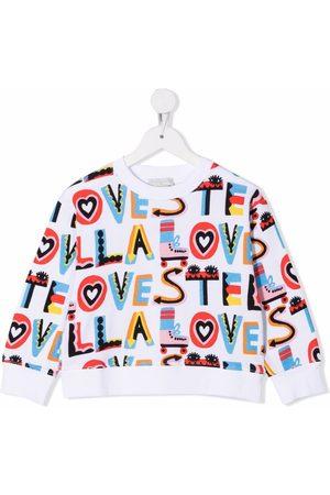 Stella McCartney Stella Love print sweatshirt