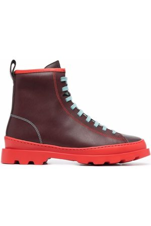 Camper Brutus lace-up leather boots