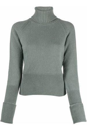 FEDELI Roll-neck cashmere jumper