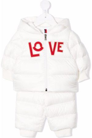 Moncler Love-patch padded set