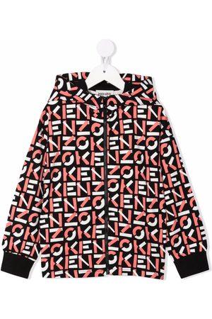 Kenzo Logo-print cotton hoodie