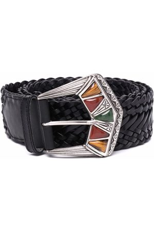 Etro Embossed-buckle belt