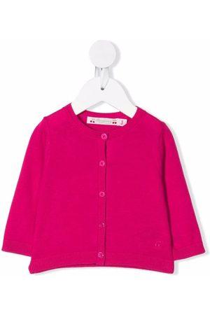 BONPOINT Teyana cherry-embroidered cardigan