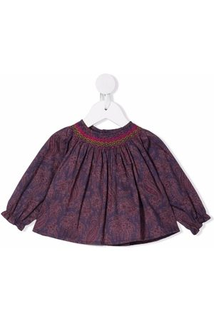 BONPOINT Griotte smocked blouse