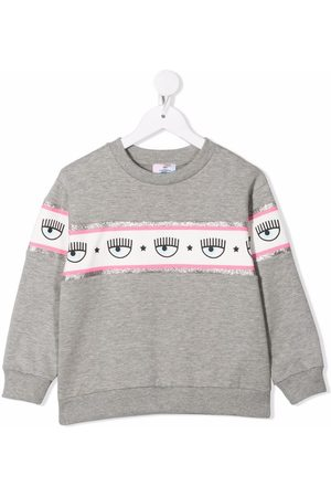 Chiara Ferragni Logo-print cotton sweatshirt