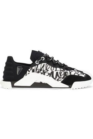 Dolce & Gabbana NS1 logo-graffiti sneakers