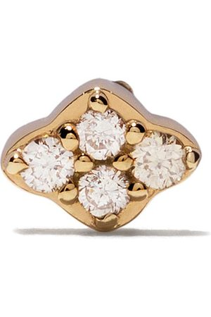 ASTLEY CLARKE 14kt yellow diamond Mini Interstellar single stud earring