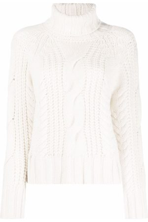 P.a.r.o.s.h. Cable-knit roll-neck jumper