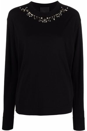 Givenchy Piercing-detail wool jumper