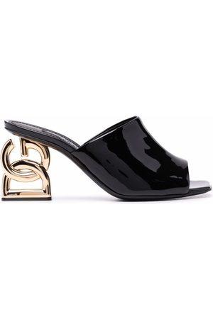 Dolce & Gabbana Monogram heel mules