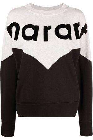 Isabel Marant Two-tone crew neck sweatshirt