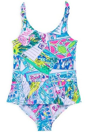 Lilly Pulitzer Little Girl's & Girl's Ruffle One-Piece Swimsuit