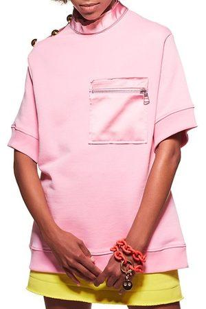 AZ FACTORY Women Hoodies - Zip Pocket T-Shirt