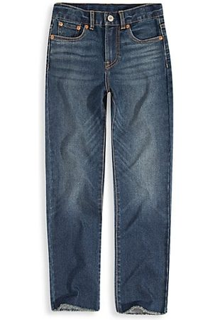 Levi's Girl's High-Rise Straight-Leg Jeans