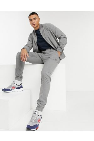 ASOS Skinny smart jogger co-ord in charcoal
