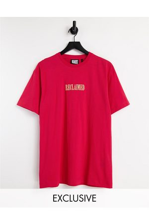 Reclaimed Inspired unisex oversized t-shirt with front logo in