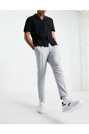 ASOS Super skinny suit trousers in neppy basketweave