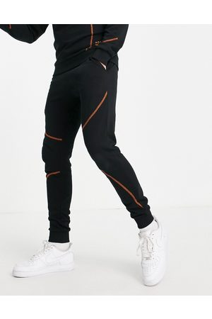 JACK & JONES Core co-ord joggers with contrast stitch in