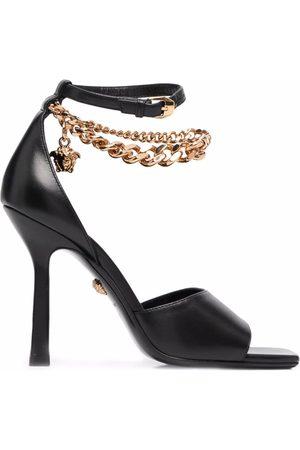 VERSACE Women Sandals - Medusa chain-strap sandals