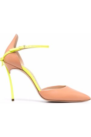 Casadei Two-tone leather pumps