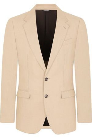 Dolce & Gabbana Single-breasted flax suit