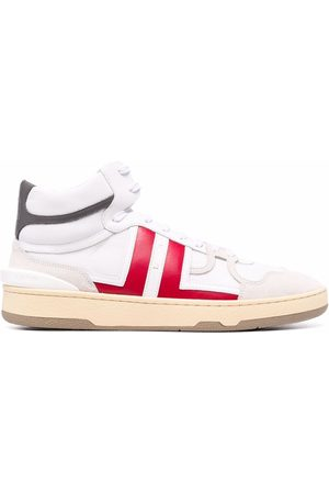 Lanvin Logo-patch lace-up sneakers