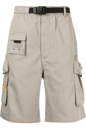 izzue Cotton cargo shorts