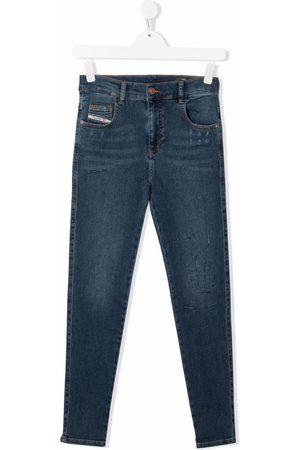 Diesel TEEN high-rise skinny jeans