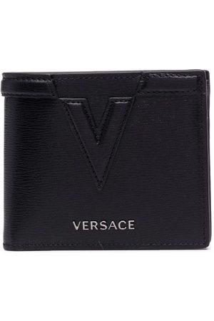 VERSACE Logo-embossed wallet