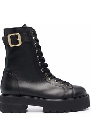 Stuart Weitzman Ryder lace-up ankle boots