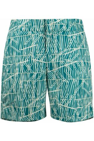 Frescobol Carioca Elasticated swim shorts