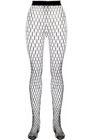 Wolford X Amina Muaddi net tights