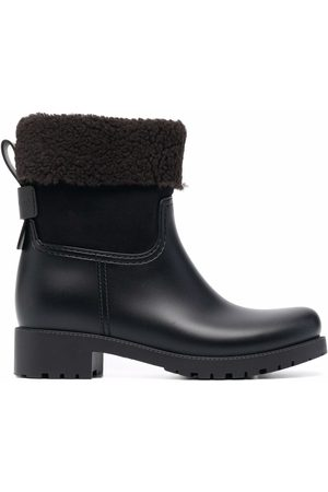 See by Chloé Shearling-lined leather ankle boots