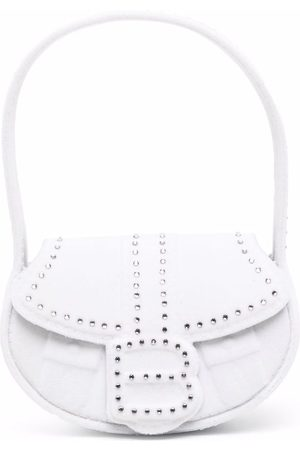 forBitches Embossed rounded tote bag