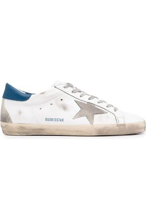 Golden Goose Star-patch lace-up sneakers