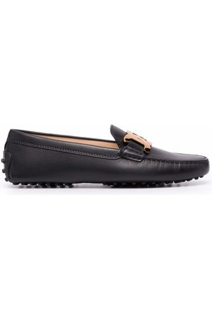 Tod's Women Loafers - Kate chain-embellished leather loafers