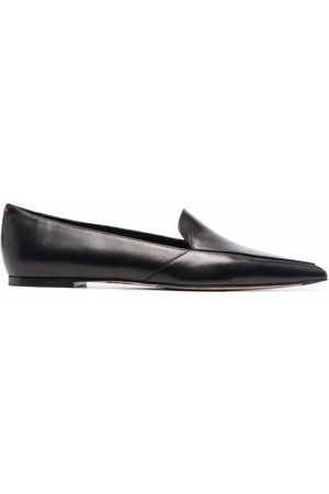 Aeyde Women Loafers - Martha pointed leather loafers