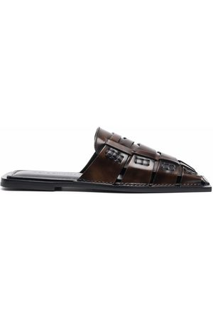 Acne Studios Women Sandals - Woven leather sandals