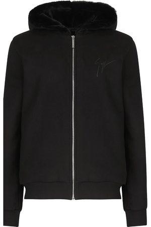 Giuseppe Zanotti LR-12 logo-print hoodie