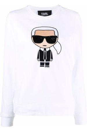 Karl Lagerfeld Ikonik Karl print sweatshirt